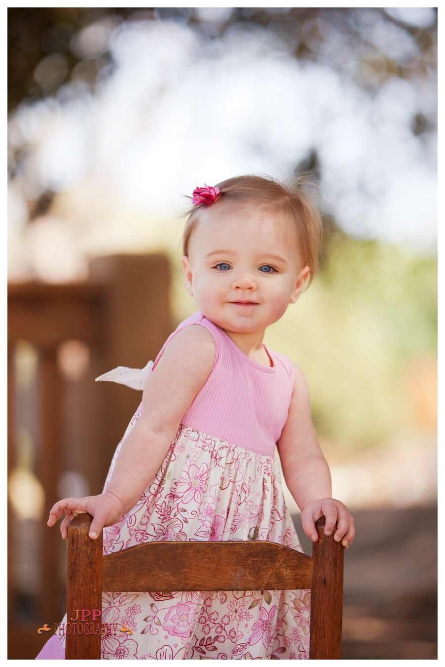 Portrait session for 1 year old