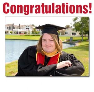 College Graduation Portrait