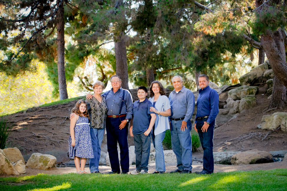 Family Portrait Session in Orange County