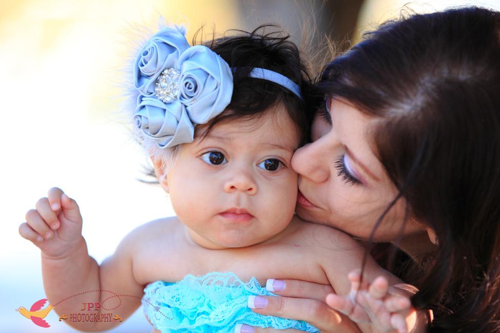6 Month Baby Portrait