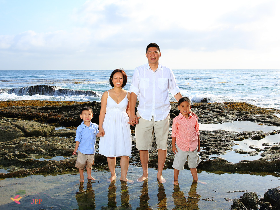 Family Portraits by the beach